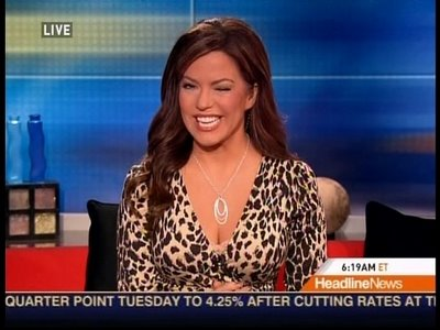 CNN MK'd Kitten Robin Meade & George HW Bush,Sr. Birthday Fun