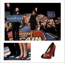 palin piros cipő