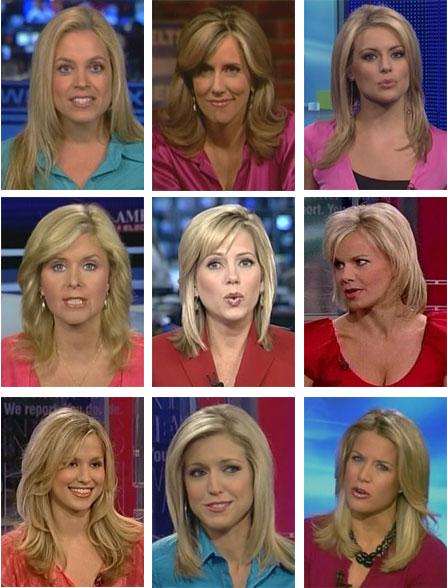 FOX News Anchors (Doll Prog'mg)