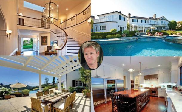 Gordon Ramsay House In Los Angeles